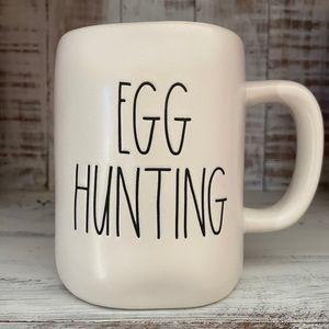 Rae Dunn Egg Hunting Mug with Pink interior New